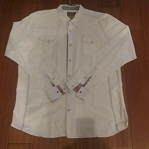 Long sleeve snap shirt